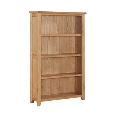 Heartlands Furniture Stirling Wide 156.4cm Standard Bookcase