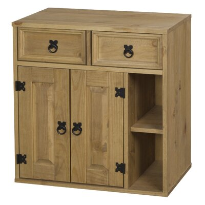 Heartlands Furniture Rustic Corona Multimedia Cabinet