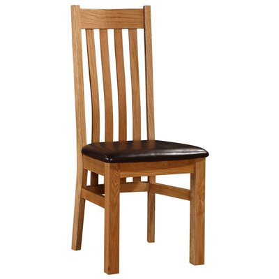 Heartlands Furniture Solid Oak Upholstered Dining Chair