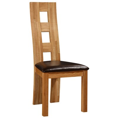 Heartlands Furniture Weston Solid Oak Upholstered Dining Chair
