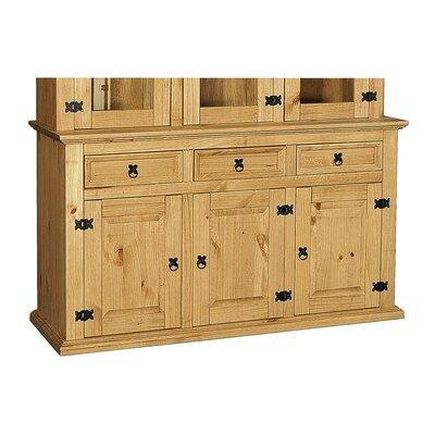 Heartlands Furniture Rustic Corona 3 Door 3 Drawer Combi Chest