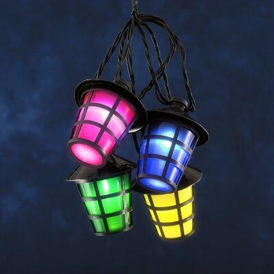 Konstsmide Lampion-Lichterkette 20-flammig