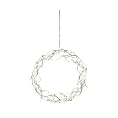 Konstsmide LED-Metallsilhouette Kranz