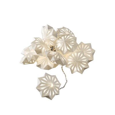Konstsmide LED-Dekolichterkette Schneeflocken