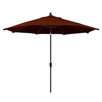 Mullaney 11' Market Umbrella Frame Color: Champagne, Color: Capri
