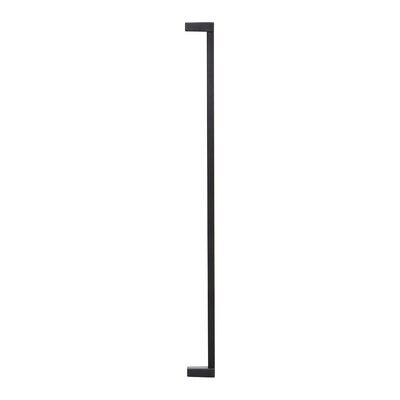 "2.5"" Gate Extension Color: Charcoal"