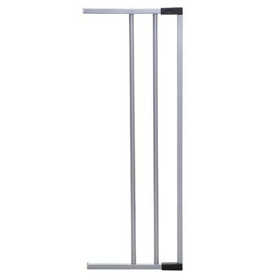 "7"" Gate Extension Color: Silver"