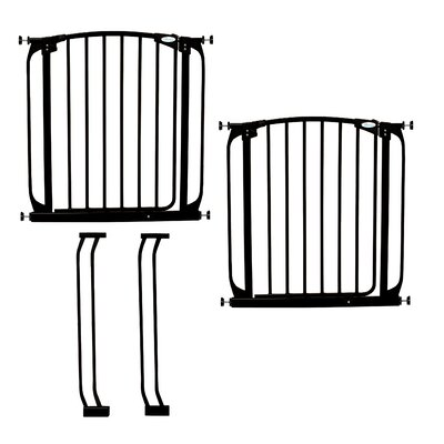 Dreambaby Chelsea Swing Close Gate Combo Pack Type: Value Pack, Color: Black