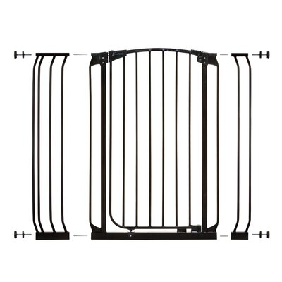 Chelsea Tall Auto Close Safety Gate Color: Black