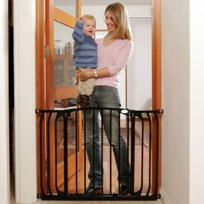 Dreambaby Chelsea Xtra Wide Swing Close Gate Combo Pack Color: Black