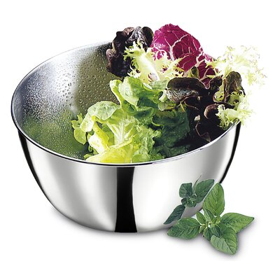 Stainless Steel 3.5-Qt. Salad Spinner