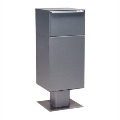 1 Unit Parcel Locker Color: Gray