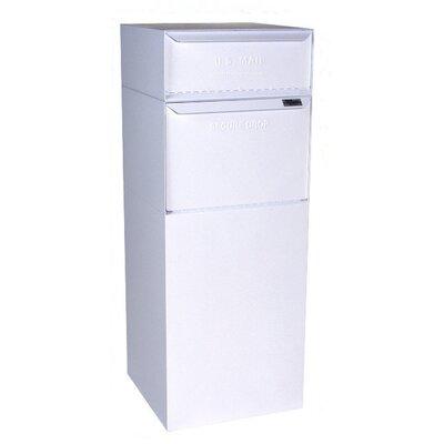 Vault 1 Unit Parcel Locker Color: White