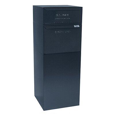 Vault 1 Unit Parcel Locker Color: Black
