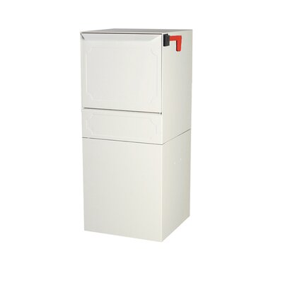 Steel 1 Unit Parcel Locker Color: White, Outgoing Mail Compartment: Do not include
