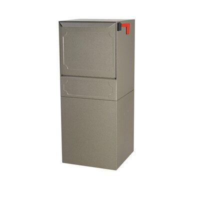 Steel 1 Unit Parcel Locker Color: Gray, Outgoing Mail Compartment: Do not include