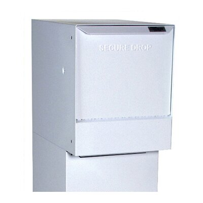 Vault Locking Wall Mounted Mailbox Color: White