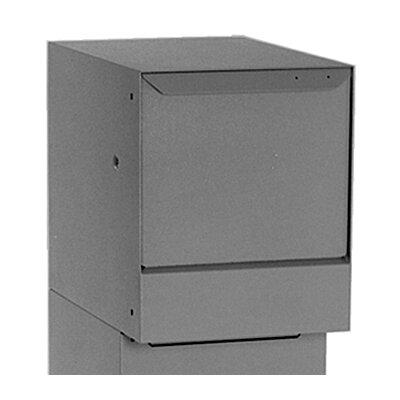 Vault Locking Wall Mounted Mailbox Color: Gray