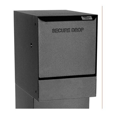 Vault Locking Wall Mounted Mailbox Color: Black