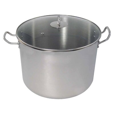 Stock Pot with Lid Size: 20-qt.