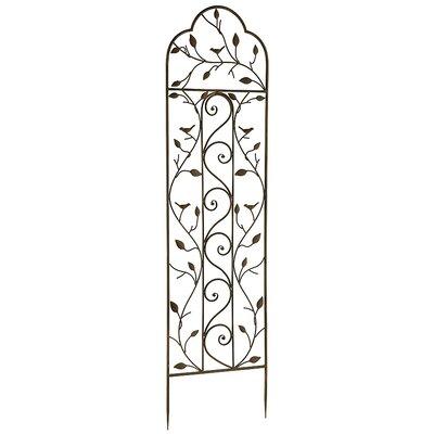 Nature Metal Arched Trellis