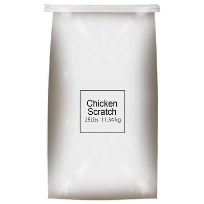 """Global Harvest 25"""" Chicken Scratch"""