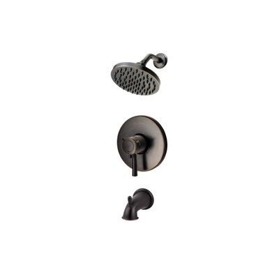 Pfister Volume Control Tub and Shower Faucet with Lever Handle