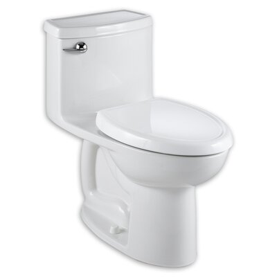 Cadet Compact 3 Flowise 1.28 GPF Elongated One-Piece Toilet Color: White