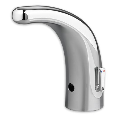 Integrated 0.5 GPF Selectronic Faucet with Mixing