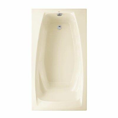 "Colony 60"" x 33"" Soaking Bathtub Color: Linen"