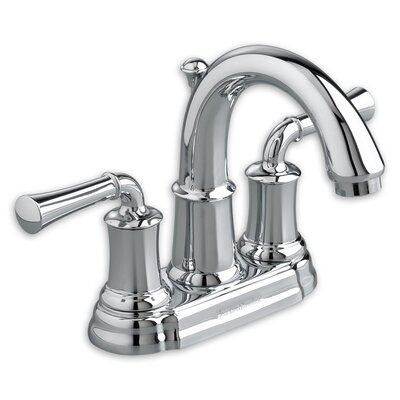 Portsmouth Centerset Bathroom Faucet with Drain Assembly Finish: Polished Chrome