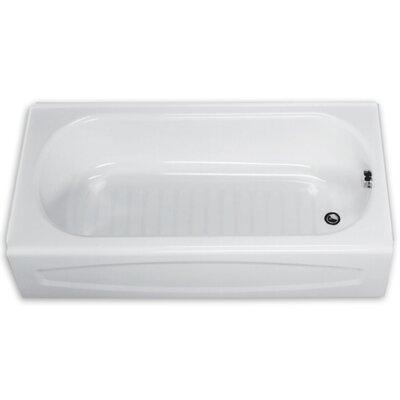 """New Salem 60"""" x 30"""" Bathtub Drain Location: Right"""