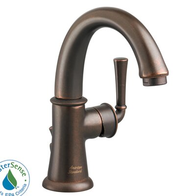 American Standard Portsmouth Single Hole Bathroom Faucet with Single Handle