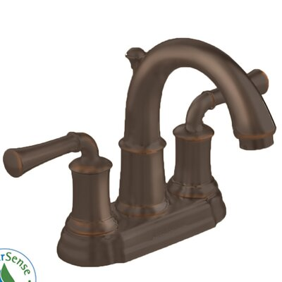 Portsmouth Centerset Bathroom Faucet with Drain Assembly Finish: Oil Rubbed Bronze