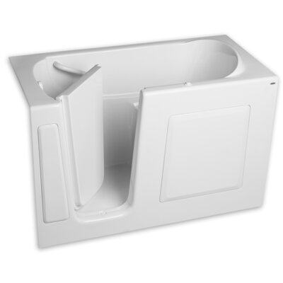 "59.5"" x 29.75"" Whirlpool Color: White"
