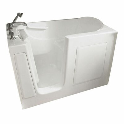 """59.5"""" x 29.75"""" Whirlpool color: white"""