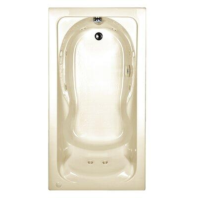 """Cadet 60"""" x 32"""" Drop in Whirlpool Tub"""