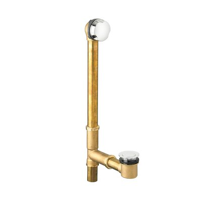 Universal Leg Tub Drain Color: Chrome