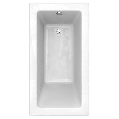 "Studio 60"" x 32"" Drop in/Undermount Soaking Bathtub"