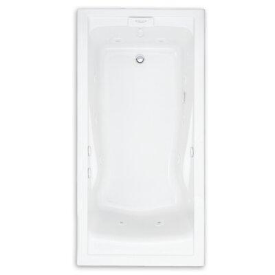"Evolution Soak EverClean 60"" x 36"" Deep Undermount Whirlpool Bathtub"