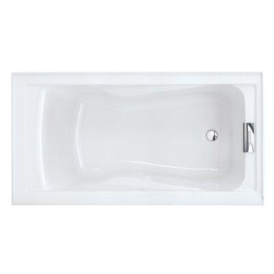 "Evolution 60"" x 32"" Deep Undermount Soaking Bathtub"