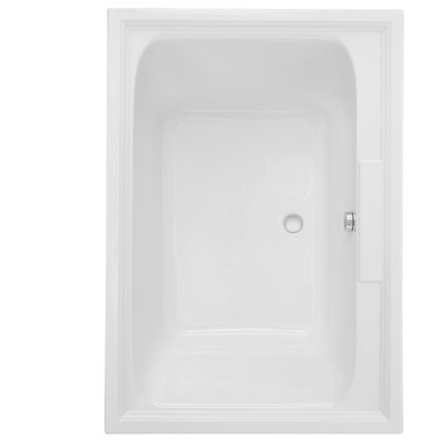 "Town Square 60"" x 42"" Drop in Whirlpool Bathtub"