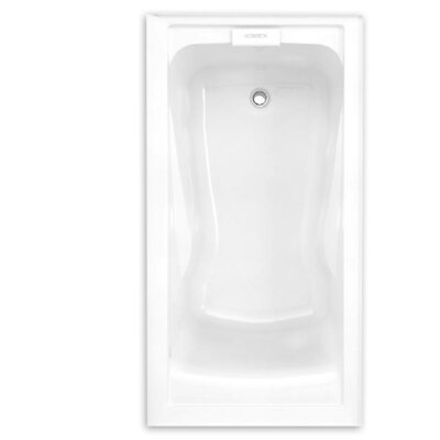 "Evolution 60"" x 32"" Deep Integral Apron Alcove Soaking Bathtub"