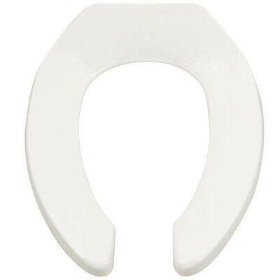 Heavy-Duty Commercial Elongated Toilet Seat