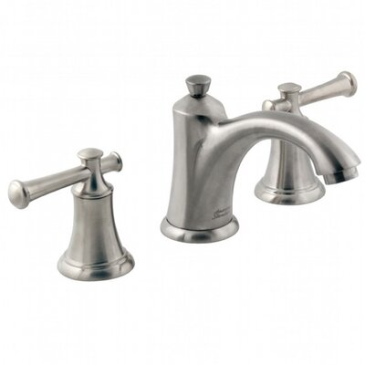 Portsmouth Widespread Bathroom Faucet with Drain Assembly Finish: Satin Nickel