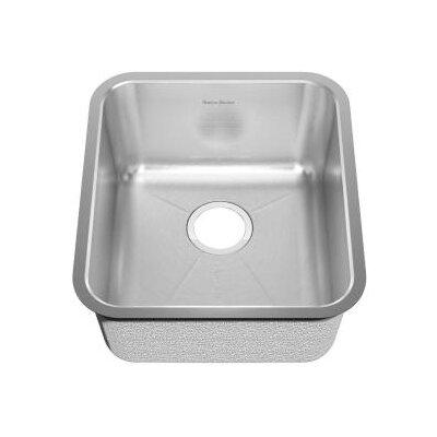 "American Standard 18.75"" x 16.75"" Undermount Single Bowl Kitchen Sink"