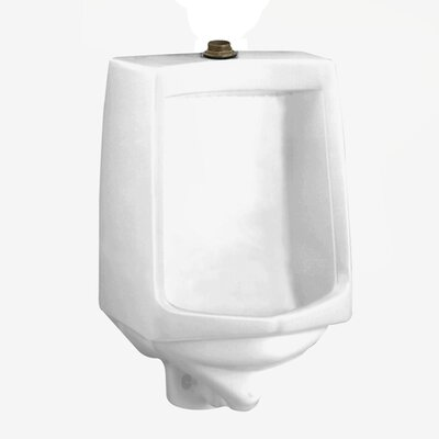 "Traditional Trimbrook Urinal with 0.75"" Top Spud, Wall Hanger, and Outlet Connection Color: White"
