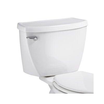 Pressure Assist 1.1 GPF Toilet Tank Color: White