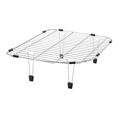 """13"""" x 15"""" Stainless Steel Multi-Level Sink Grid"""