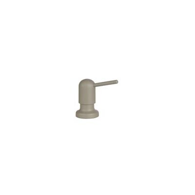 Milano Soap & Lotion Dispenser Color: Stainless (Satin Nickel)